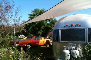 belrepayre airstream retro glamping camping caravane pour 2 melody maker
