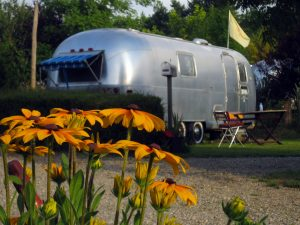 belrepayre south of france unusual campsite airstream melody maker