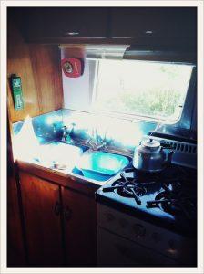belrepayre vintage unusual campground spartan kitchen sink and cooker