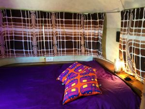 belrepayre retro glamping france pyrenees airstream limited summer suite bedroom