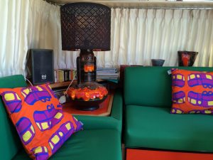 belrepayre airstream retro vintage glamping summer suite detail living room