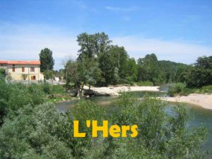 riviere de l'hers - the Hers river to swin