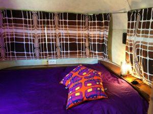 belrepayre retro glamping france pyrenees airstream limited summer suite bedroom