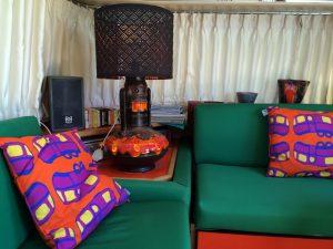 belrepayre airstream retro vintage glamping summer suite detail living room