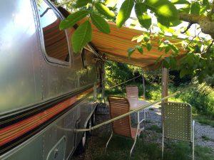 belrepayre airstream retro trailer park south of france pyrenees mirepoix unusual hotelsumer suite