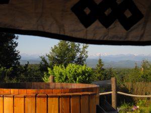 belrepayre spa yurt and pyrenees