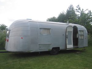 polissage d'un airstream-avant
